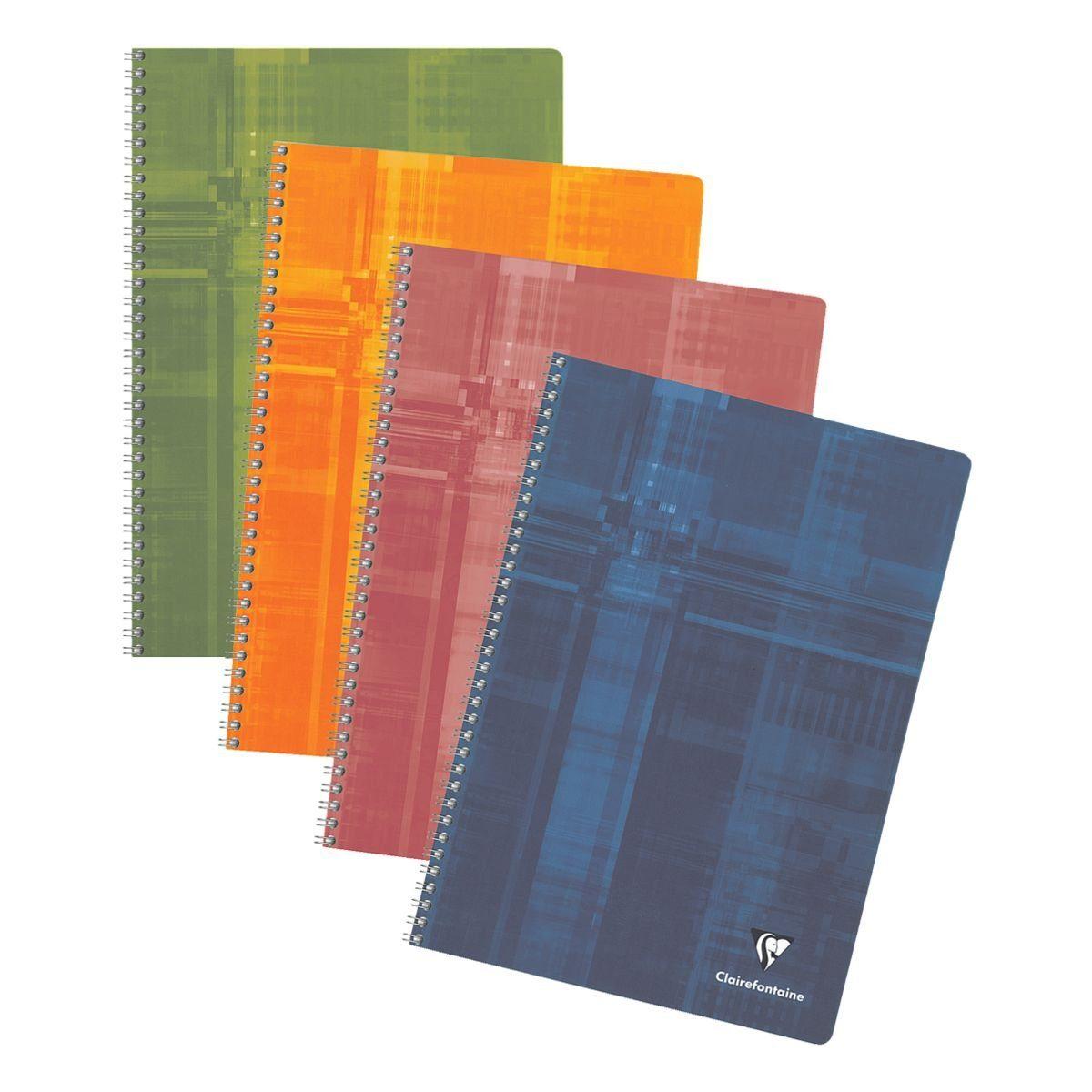 CLAIREFONTAINE Spiralbuch A4 liniert »Matris«