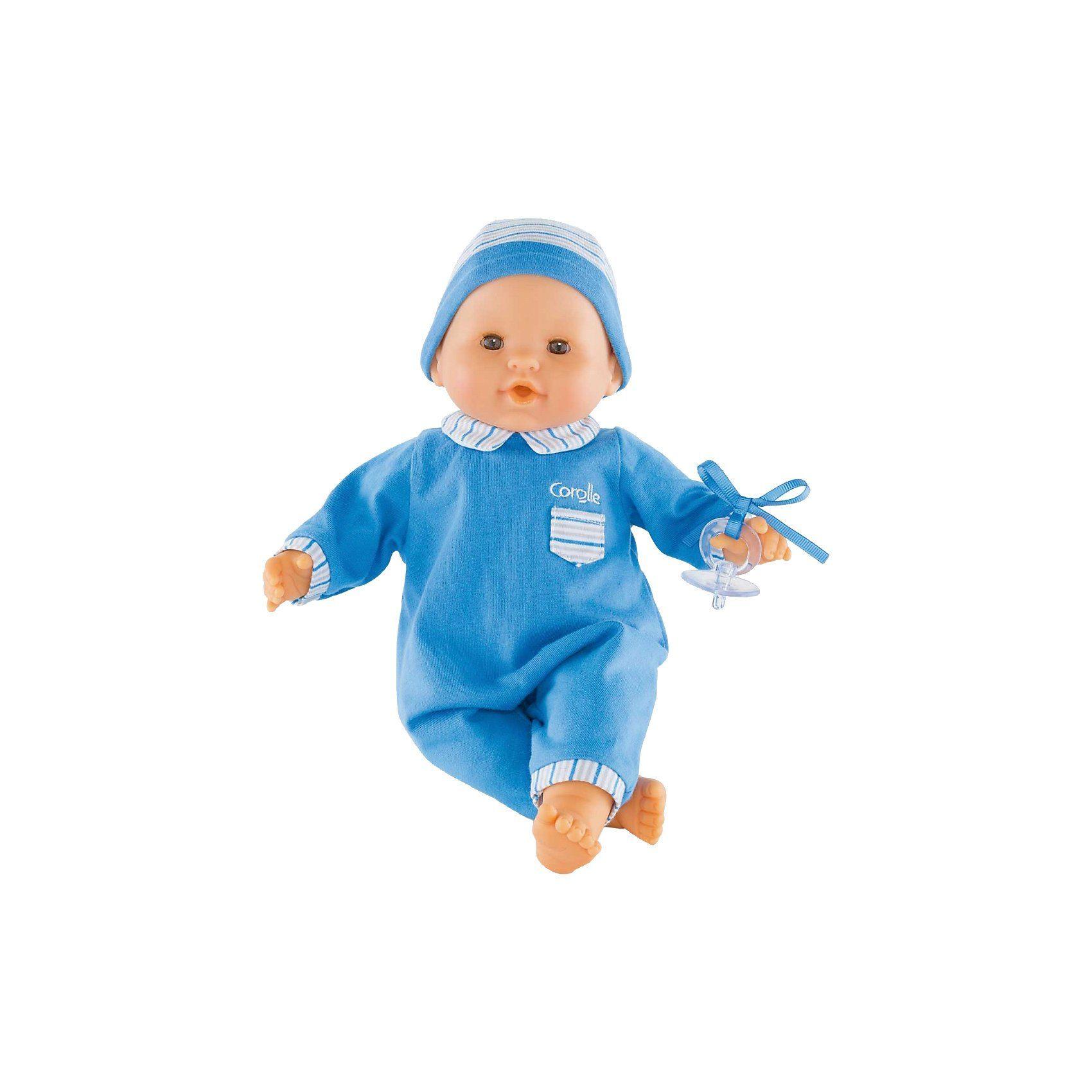 Corolle® Babypuppe Mon Bébé Classique blau 36cm