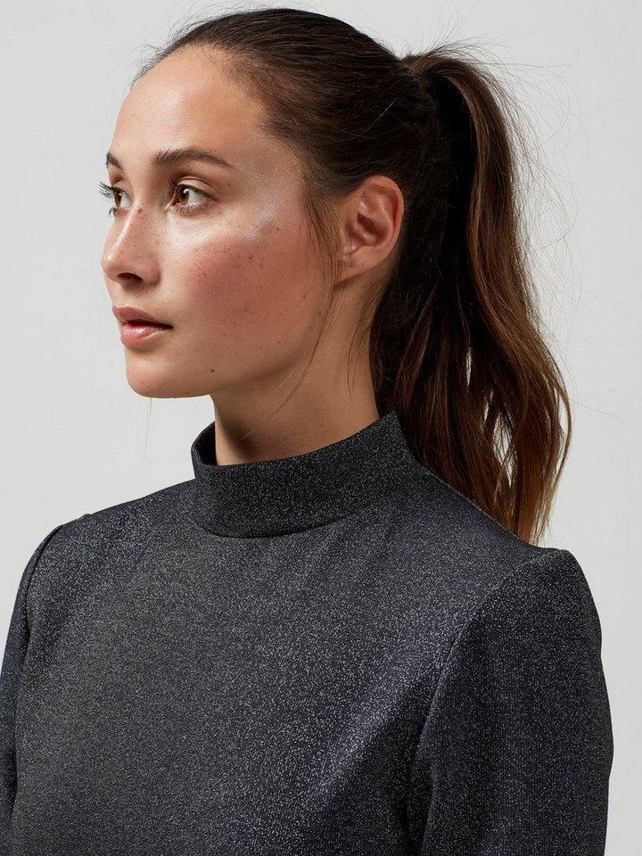 selected femme in schmaler passform geschnittenes kleid mit kurzen rmeln online kaufen otto. Black Bedroom Furniture Sets. Home Design Ideas
