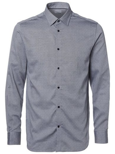 Selected Homme Regular Fit - Business-Shirt mit klassischem Kragen