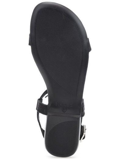 Blanc T-steg-sandalen