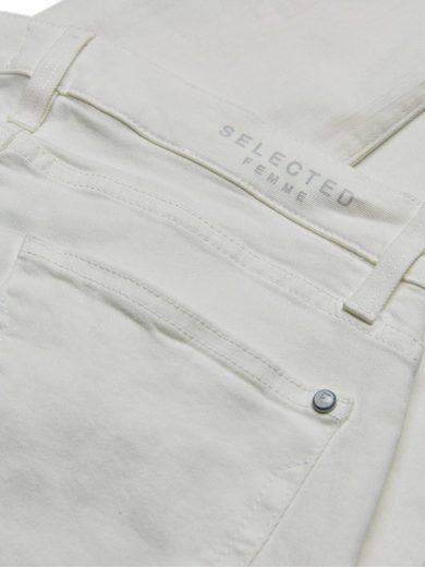 Selected Femme Slim-Fit- Slim Fit Jeans