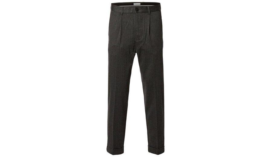 Hohe Qualität Zu Verkaufen Selected Homme Kurz geschnittene Hose Rabatt Zuverlässig Auslass Heißen Verkauf 100% Original r89jCBtl