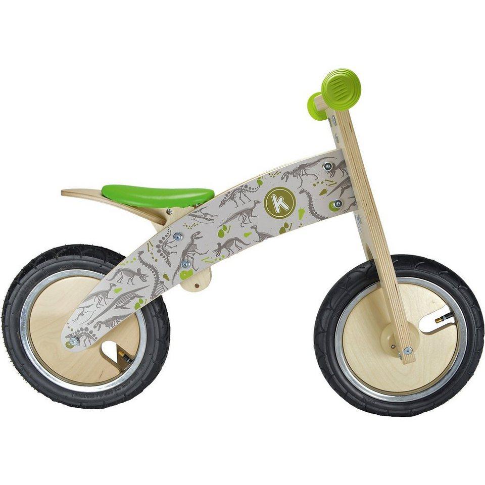 Kiddimoto Premium Holz Laufrad Dino, braun kaufen