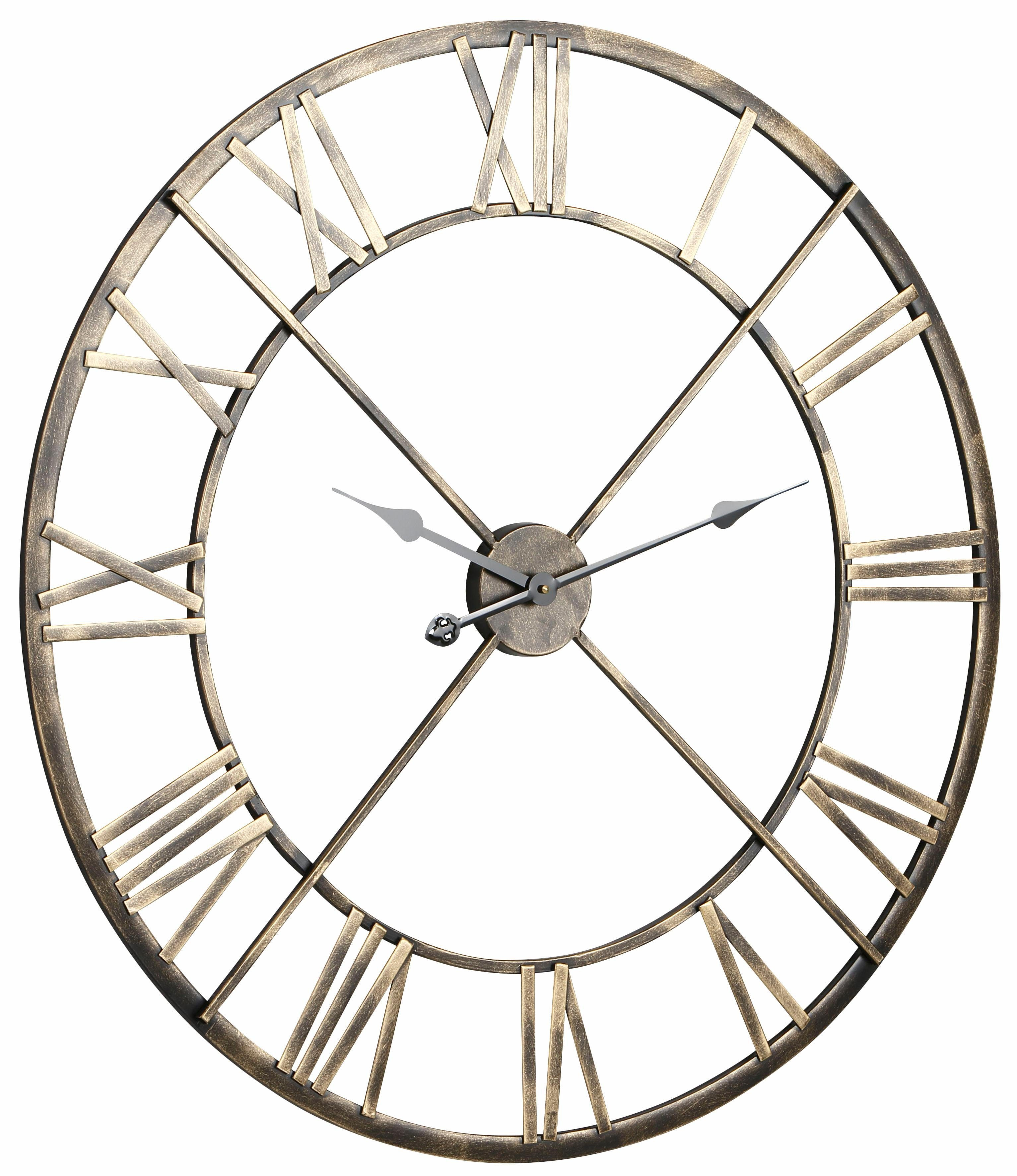 Home affaire Wanduhr »Messing«