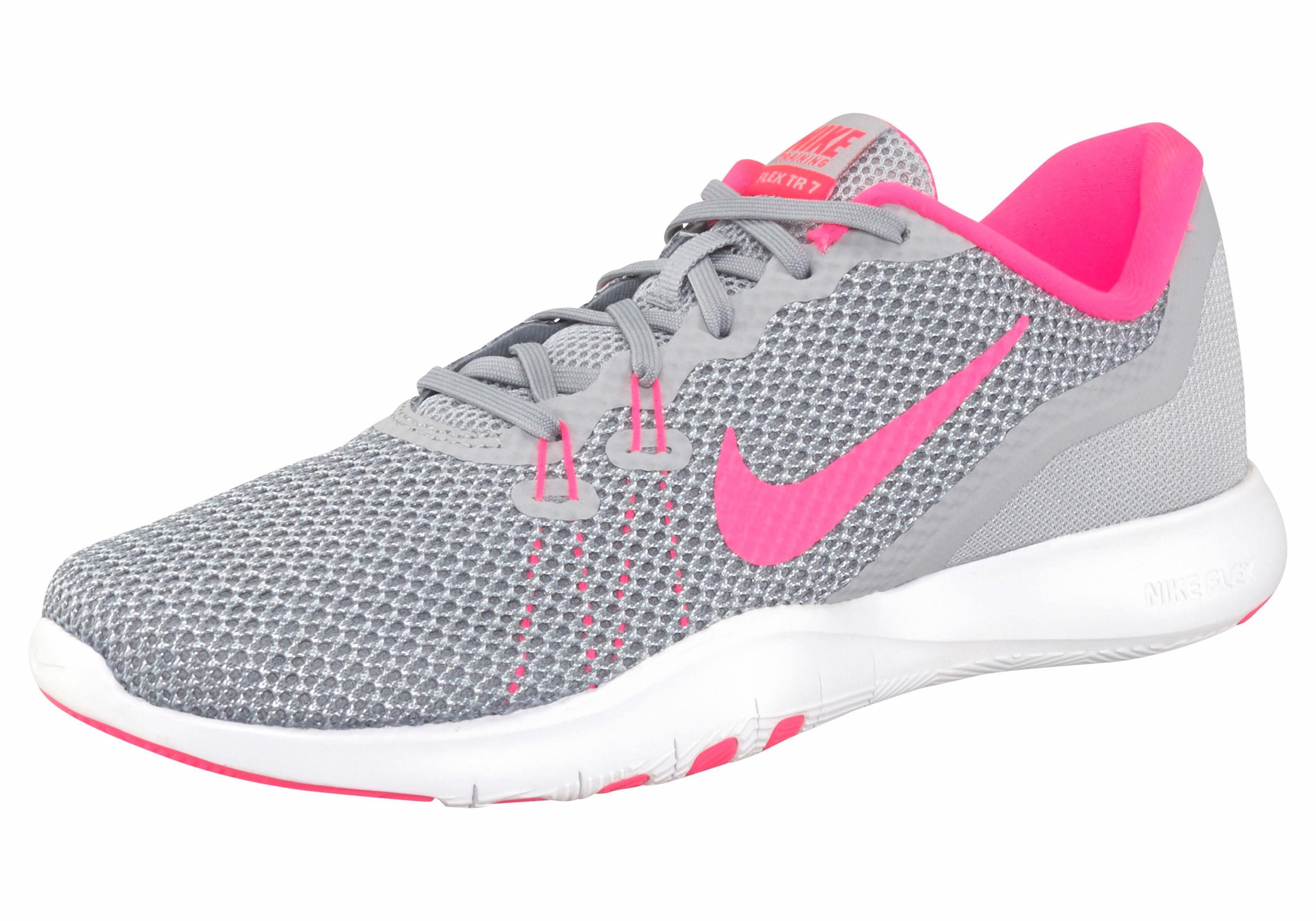 Nike »Wmns Flex Trainer 8« Fitnessschuh, schwarz, schwarz-pink