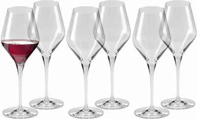 Alexander Herrmann Rotweinglas »CLASSIC Linie«, Kristallglas, 6-teilig