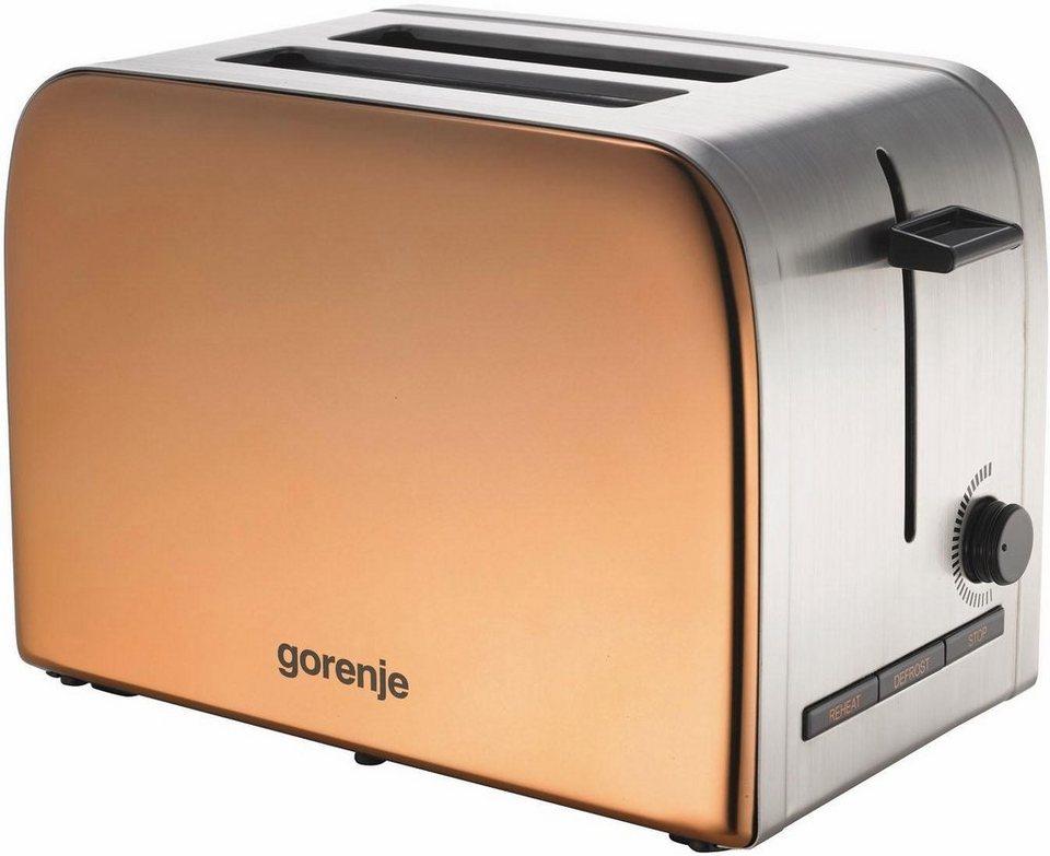 gorenje toaster t1100inf f r 2 scheiben 850 watt otto. Black Bedroom Furniture Sets. Home Design Ideas