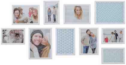 Home affaire Portraitrahmen »Creativ« (10-tlg.)