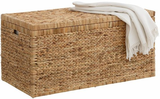 Home affaire Truhe, innen mit Baumwolle bespannt
