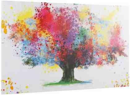 INOSIGN Deco Block »Coloured Tree«, 118/70 cm