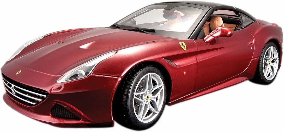 Bburago® Sammlerfahrzeug Modellauto im Maßstab 1:18, »Ferrari California T, rot«
