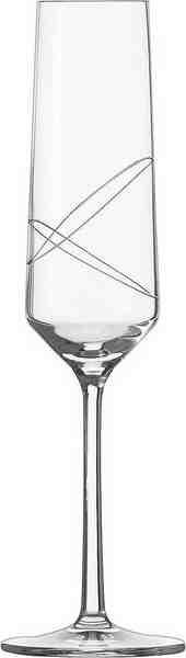 Alexander Herrmann Sektgläser, Kristallglas, 6 Stück, 215 ml, Made in Germany, »GOURMET Linie«