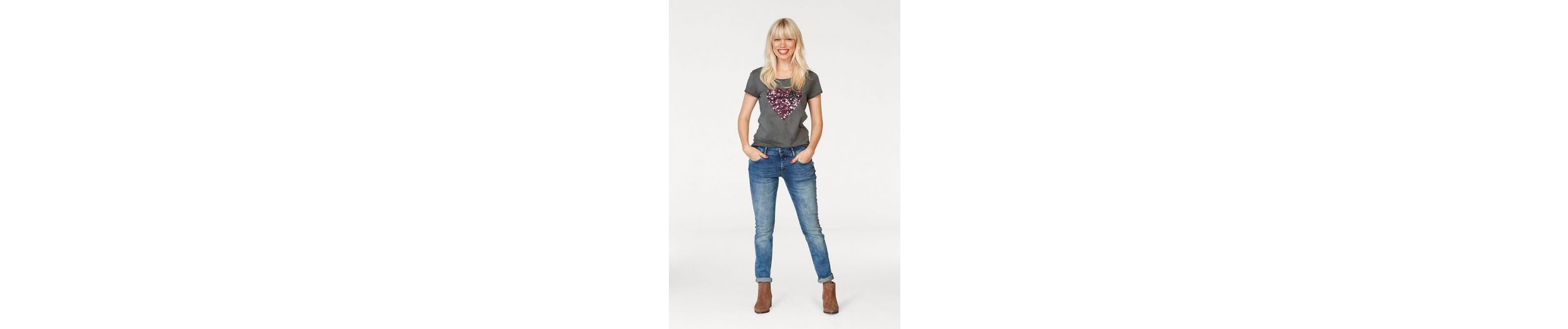 Coccara Slim-fit-Jeans CURLY Mit Kreditkarte VywClKbfIf