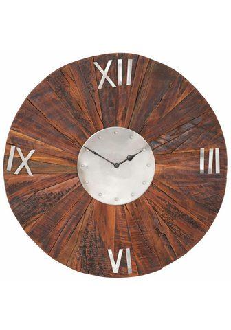 GUTMANN FACTORY Sieninis laikrodis iš mediena