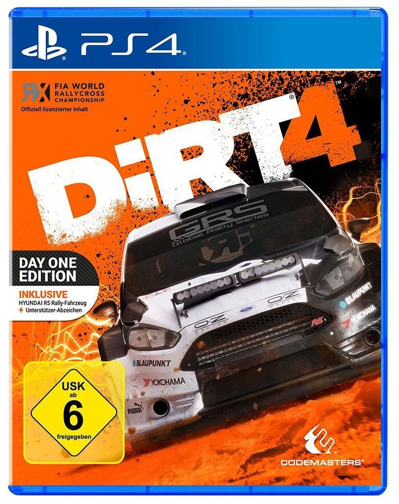 Codemasters Playstation 4 - Spiel »DiRT 4 Day One Edition«