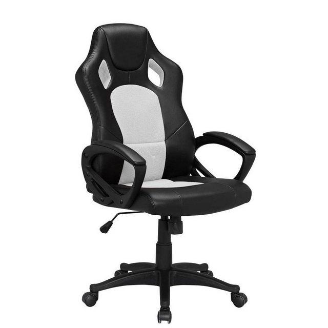 Bürostühle - HTI Line Chefsessel Racingstyle, Chefsessel Racingstuhl »Daytona« » weiß  - Onlineshop OTTO