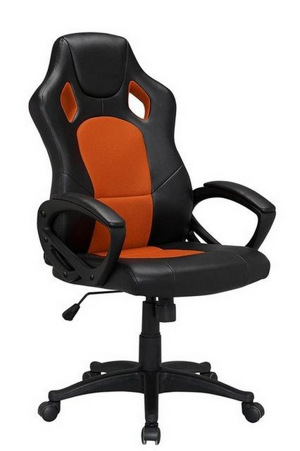 Bürostühle - HTI Line Chefsessel Racingstyle, Chefsessel Racingstuhl »Daytona« » orange  - Onlineshop OTTO