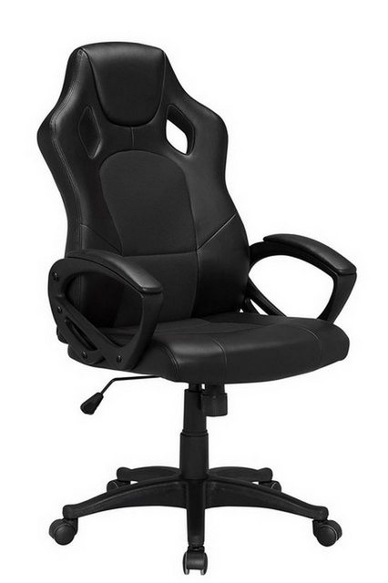 Bürostühle - HTI Line Chefsessel Racingstyle, Chefsessel Racingstuhl »Daytona« » schwarz  - Onlineshop OTTO