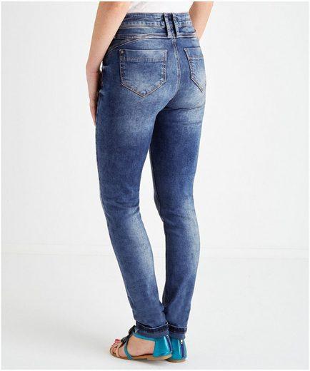 Joe Browns Slim-fit-Jeans Delightful Denim, Mit Reißverschluss auf Münztasche