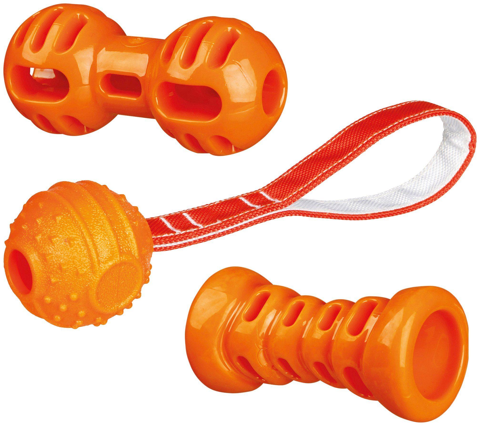 TRIXIE Hunde-Spielzeug-Set »Soft & Strong«, 3-tlg.