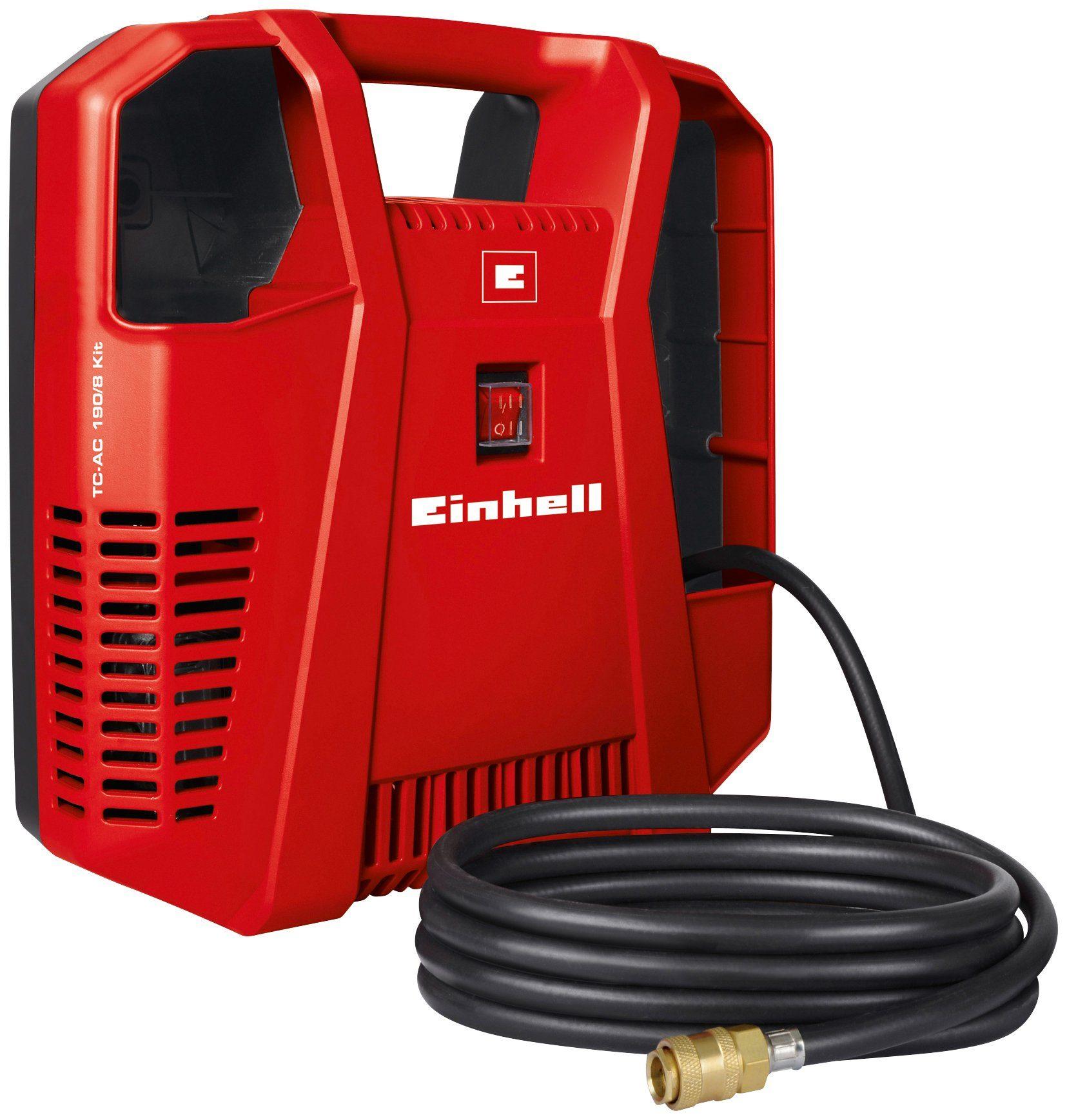 EINHELL Kompressor »TC-AC 190/8 Kit «