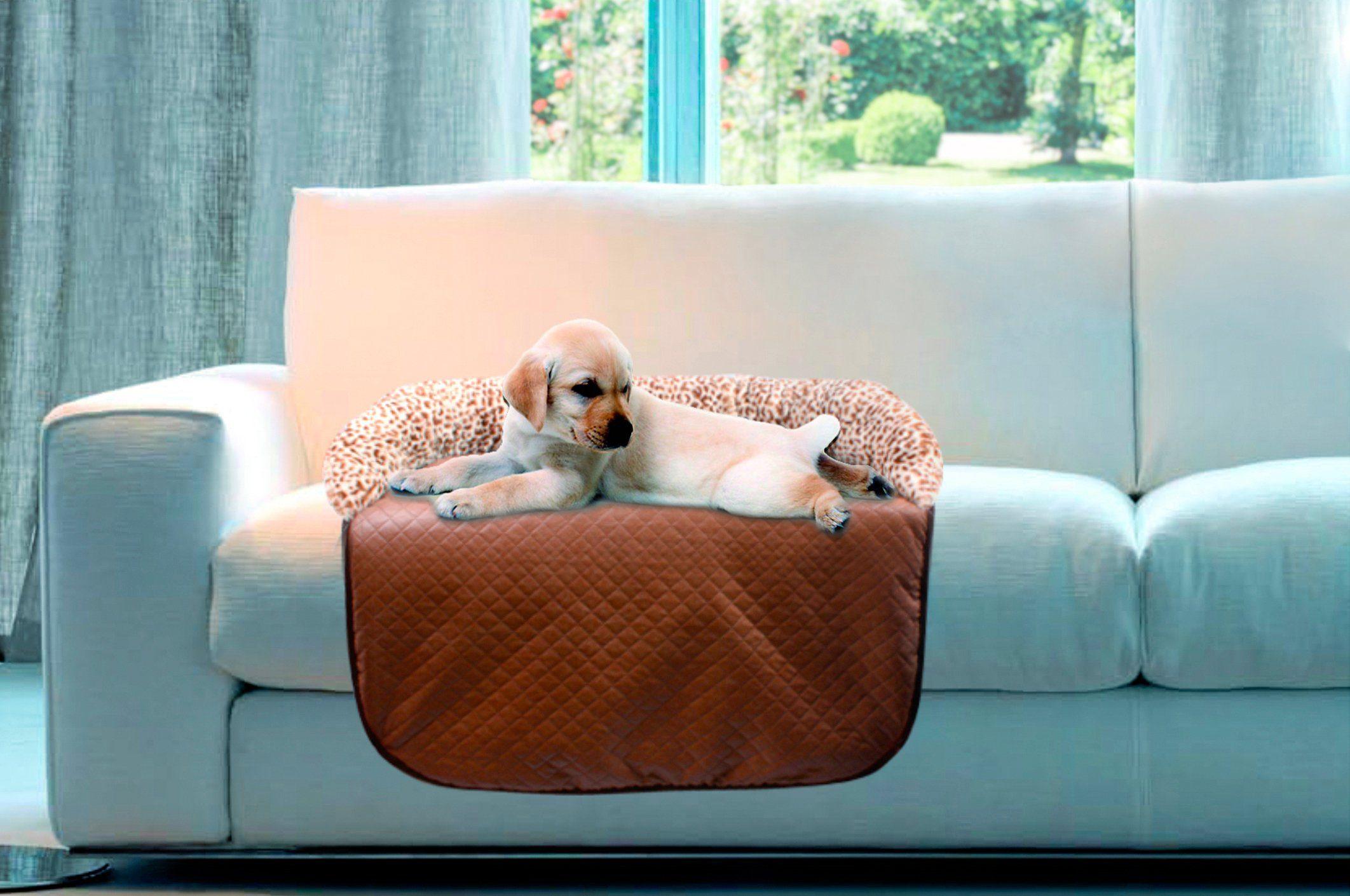 Heim Hundedecke und Katzendecke »Sofa Schutzdecke Leo«