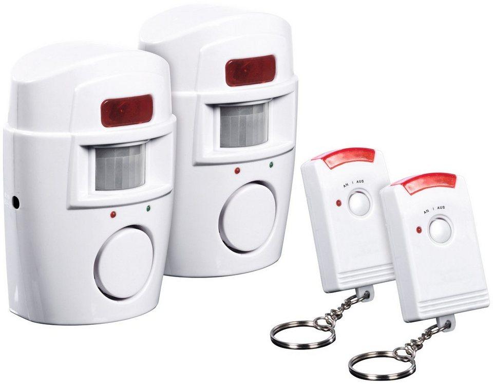 easymaxx infrarot bewegungsmelder security mit alarmfunktion online kaufen otto. Black Bedroom Furniture Sets. Home Design Ideas
