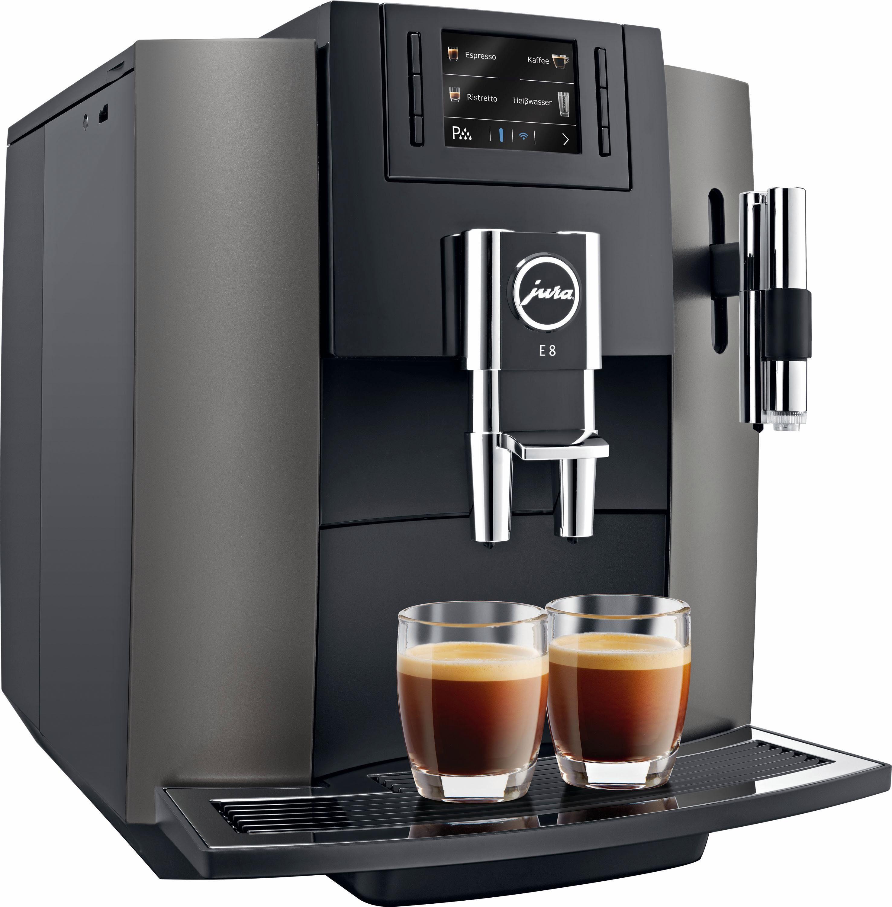 Jura Kaffeevollautomat E8, 1,9l Tank