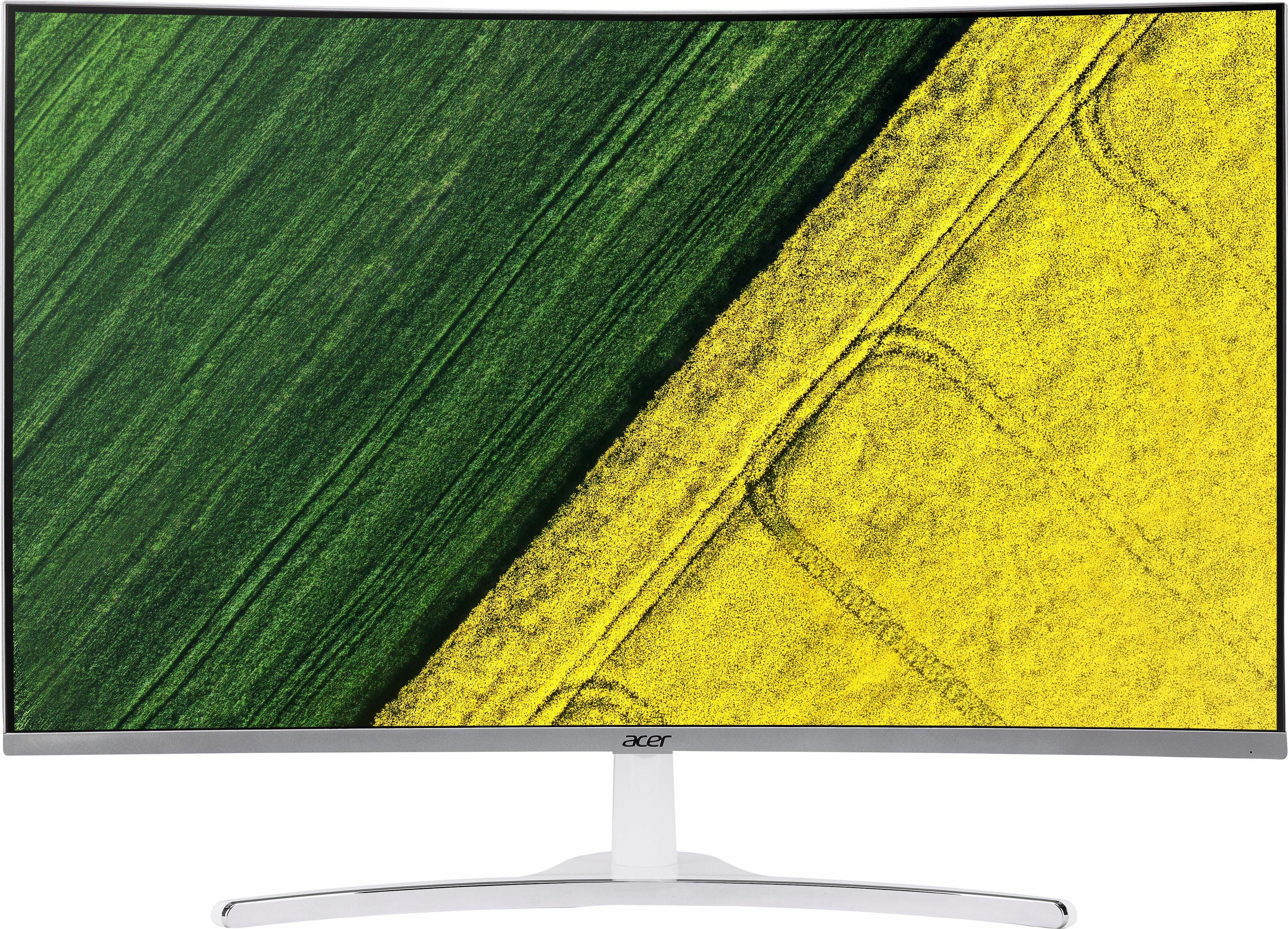 """Acer 32"""" ED322 Display LED-Monitor (1920 x 1080 Pixel, Full HD, 4 ms Reaktionszeit, Acer ComfyView, Curved Monitor, BlueLightShield & Flicker-less Technologie)"""