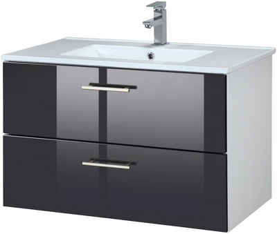 held mbel waschplatz set trento waschtisch breite 80 cm 2 - Bad Waschbecken Mit Unterschrank