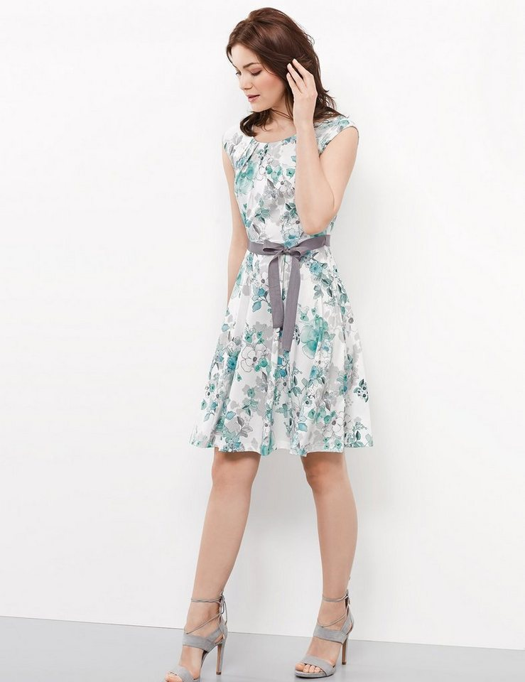 Taifun Kleid Gewirke »Slinkykleid mit Flower-Print« online ...