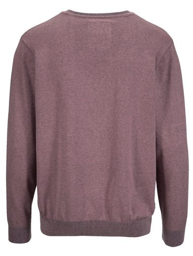 Babista Pullover in Melange-Optik