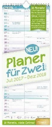 Kalender »Planer für Zwei 18 Monate 2017/2018 Wandkalender«
