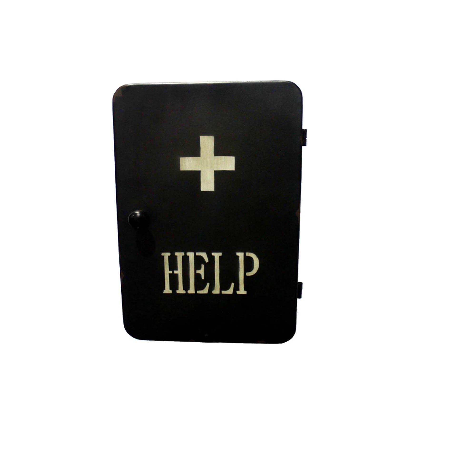 HTI-Line Medikamentenschrank »Steampunk«