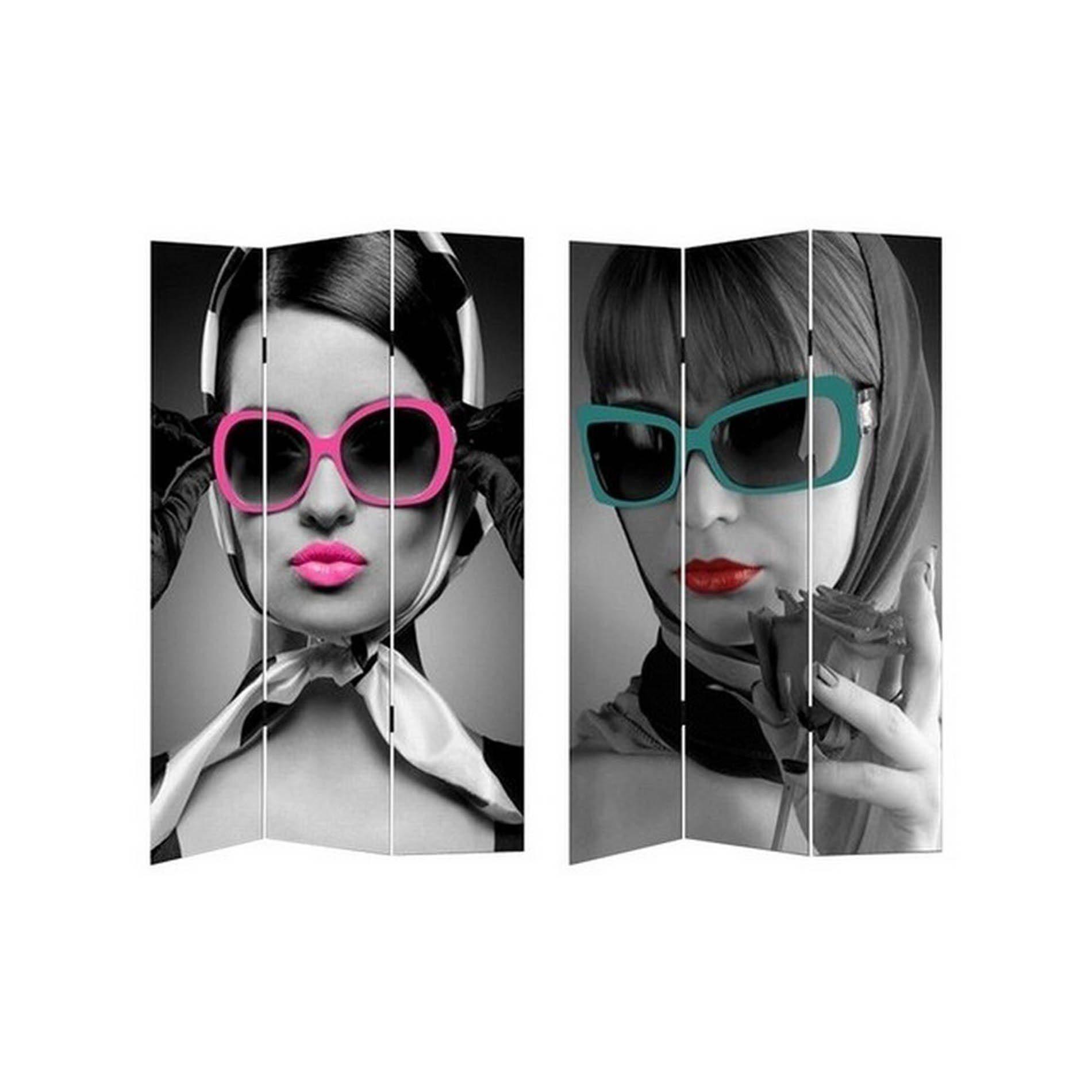 HTI-Line Paravent »Brille«