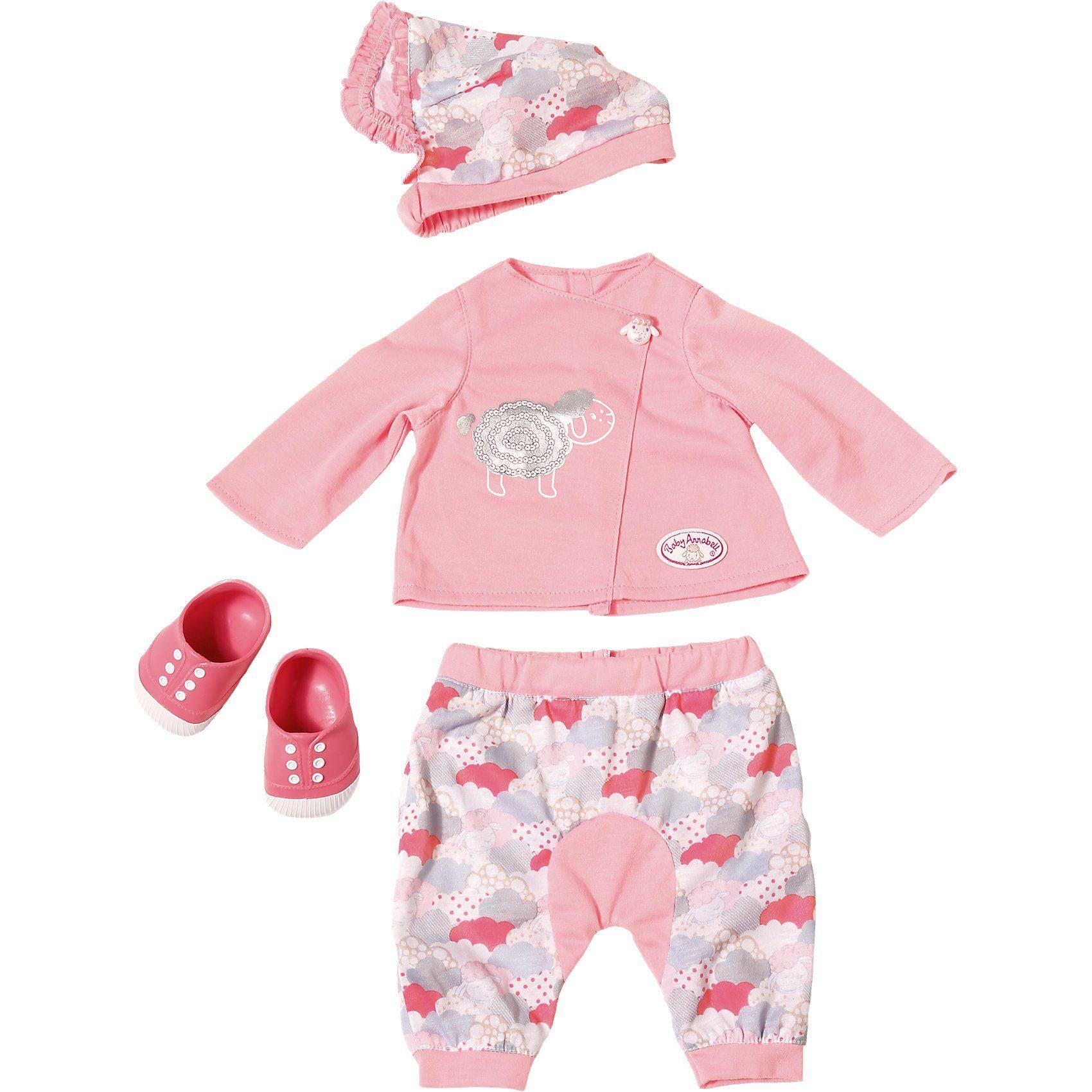 Zapf Creation® Baby Annabell® Deluxe Set Schäfchenwolke Puppenkleidung, 46
