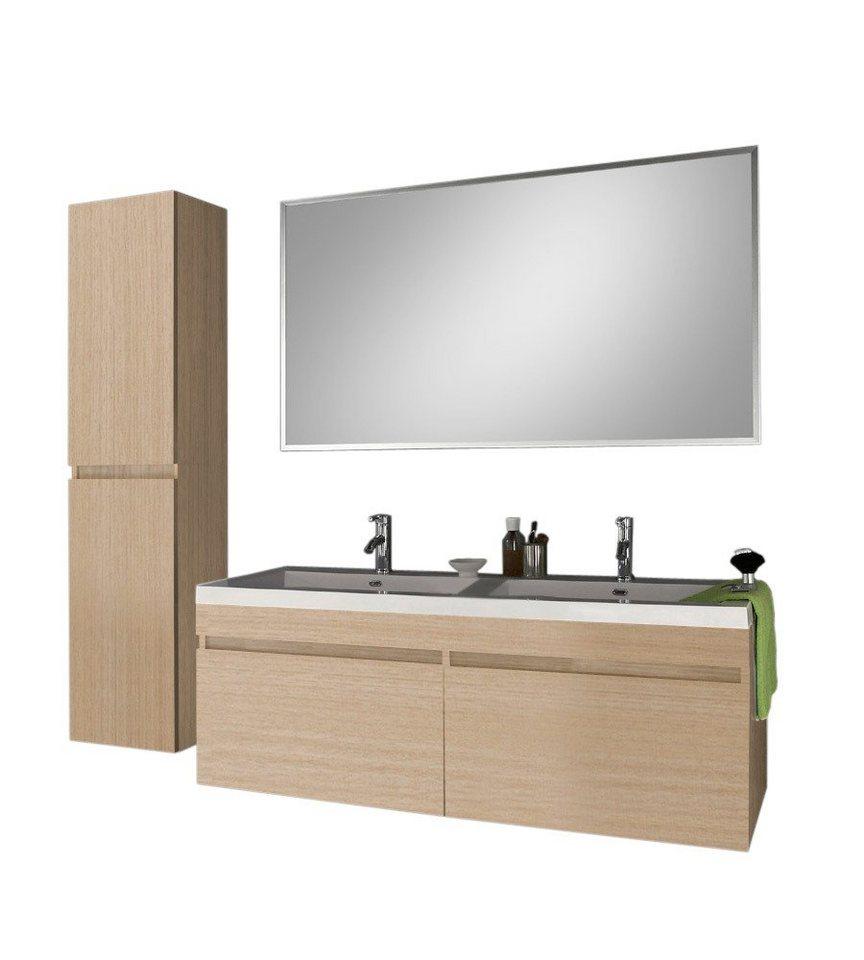 salesfever badem bel set breite 140cm 3tlg amrap online kaufen otto. Black Bedroom Furniture Sets. Home Design Ideas