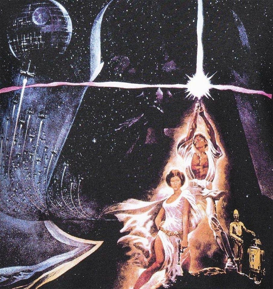 Gozoo T-Shirt »Star Wars - 40 years Krieg der Sterne Movie Poster«
