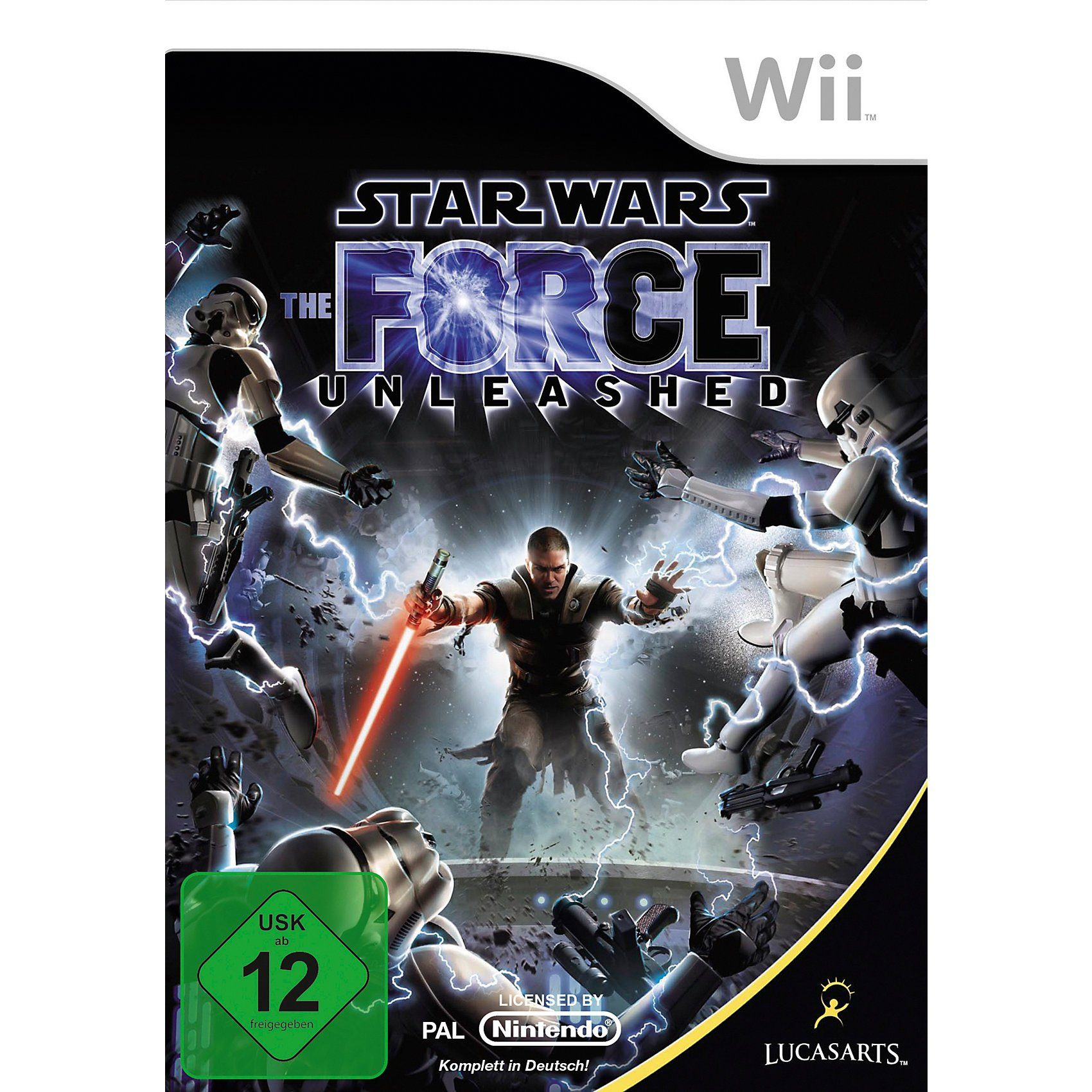 ak tronic Wii Star Wars The Force Unleashed 1
