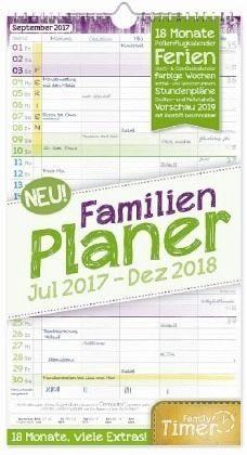 Kalender »FamilienPlaner 18 Monate 2017/2018«