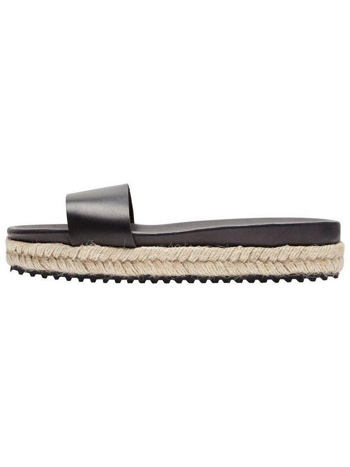 Selected Femme Leder- Sandalen online kaufen   OTTO cc5caef747
