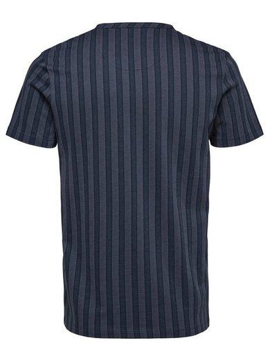 Selected Homme Gestreiftes T-Shirt