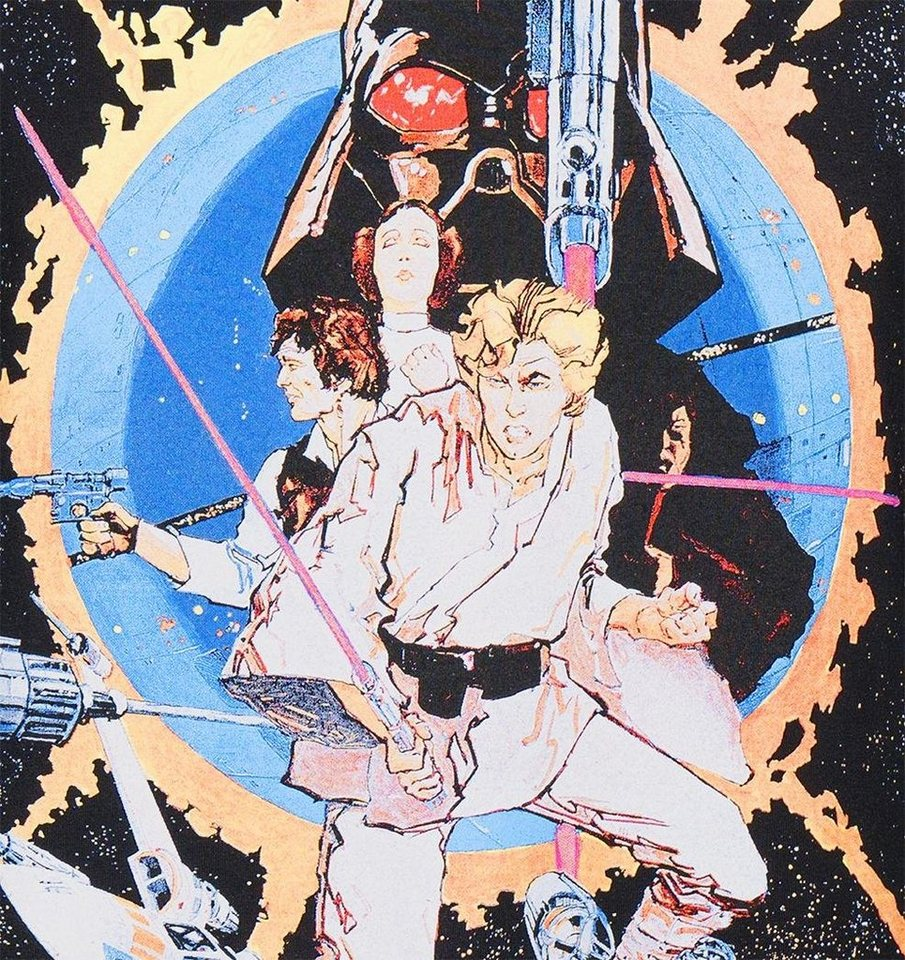 Gozoo T-Shirt »Star Wars - 40 years Manga Movie Poster«