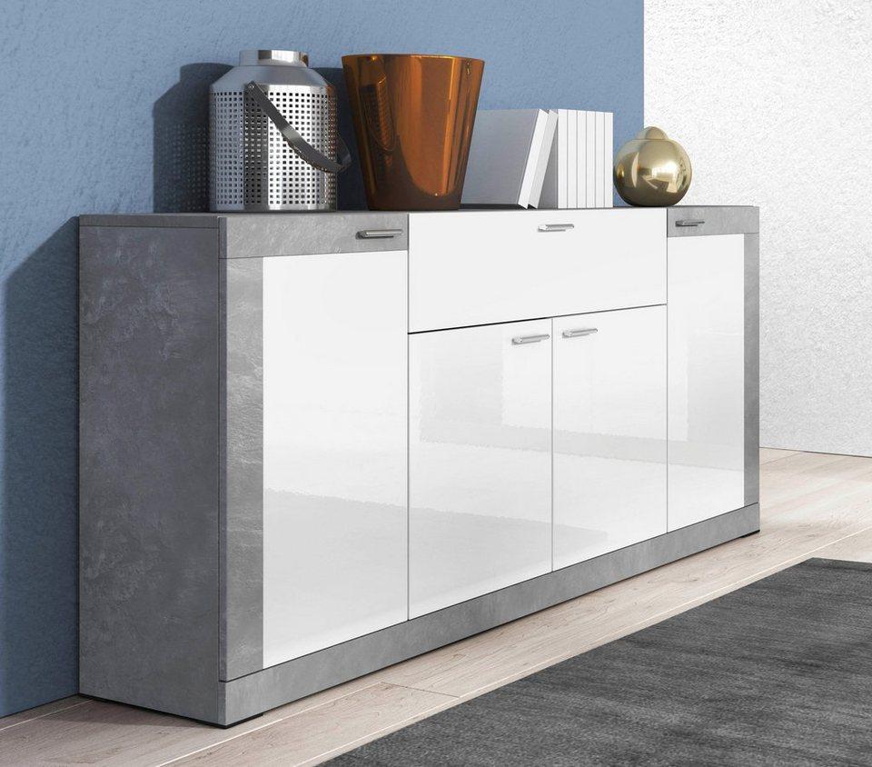 sideboard breite 153 cm online kaufen otto. Black Bedroom Furniture Sets. Home Design Ideas