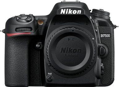 Nikon »D7500« Spiegelreflexkamera (20,9 MP, WLAN (Wi-Fi), Gesichtserkennung)
