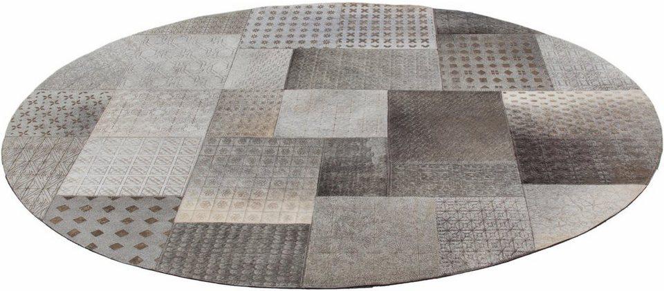 teppich gleam 560 kayoom rund h he 10 mm echter. Black Bedroom Furniture Sets. Home Design Ideas