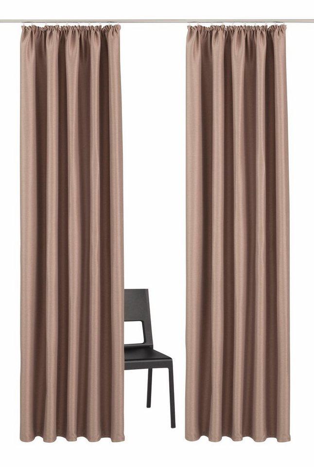 vorhang my home selection balboa mit kr uselband 2 st ck online kaufen otto. Black Bedroom Furniture Sets. Home Design Ideas