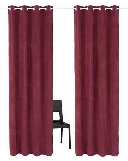 Vorhang »Samso«, Guido Maria Kretschmer Home&Living, Ösen (2 Stück)
