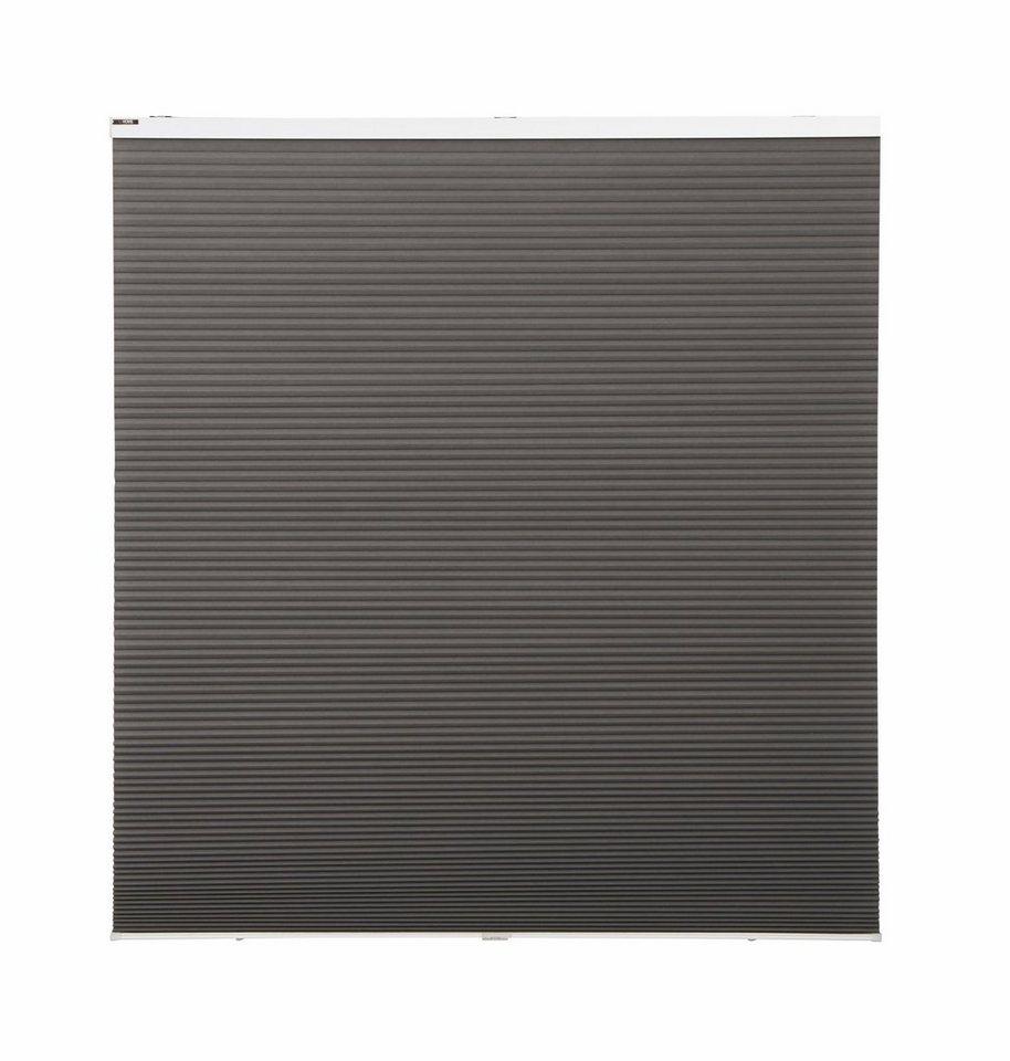 plissee alcira my home selection lichtschutz ohne bohren freih ngend faltenstore. Black Bedroom Furniture Sets. Home Design Ideas